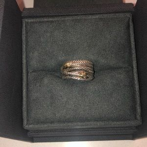 David Yurman Double Crossover Ring